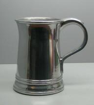 Super Large Pewter Beer Mug 32 Ounces Tankard  - $19.79
