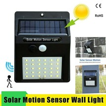 Led Solar Night Light PIR Motion Sensor Wall Light Waterproof 16/20/25/3... - $16.63+