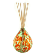 Coni Art Glass Holly Berry Mouth-Blown Reed Diffuser - $9.50