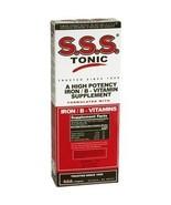 S.S.S. Tonic - Iron with Vitamin B Supplement - 100 mg / 20 mg Strength - Liquid - $16.82