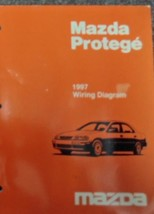 1997 Mazda Protege Electrical Wiring Diagram Troubleshooting Manual OEM EWD BOOK - $58.66