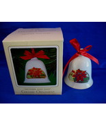 Hallmark Christmas Ornament Mother and Dad 1983 Ceramic Bell - $9.99