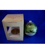 Hallmark Christmas Ornament Mother and Dad 1980 Glass - $6.99
