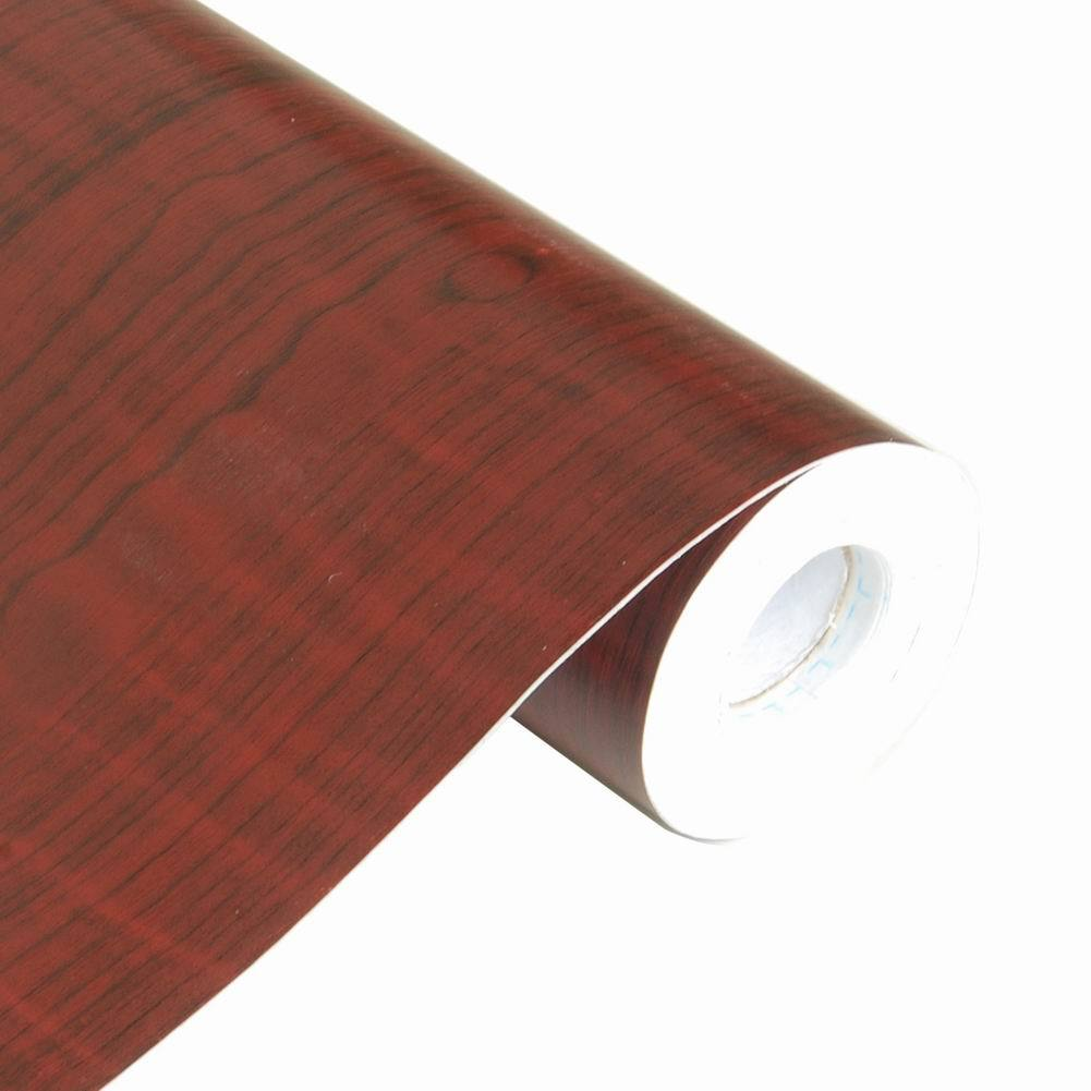 Paneling Wood Self Adhesive Wallpaper Roll Wall Decor