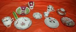 11 Piece Assorted Vintage Tea Cups And Saucers J&C, Occupied Japan, Shof... - $34.64