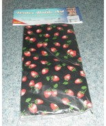Brand New Aunties Attic Water Bottle Art Cover Strawberries 4 Dog Rescue... - £3.85 GBP