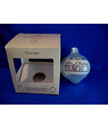 Hallmark Christmas Ornament Teacher 1984 Glass - $4.99
