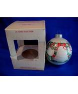 Hallmark Christmas Ornament 25 Years Together 1981 Glass - $6.99