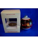 Hallmark Christmas Ornament Christmas At Home 1980 Glass - $9.99