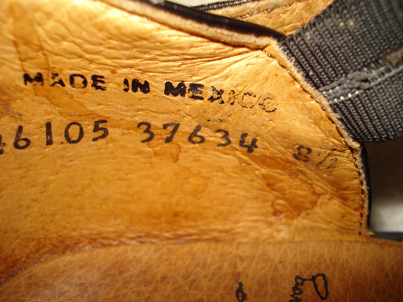 John Fluevog Black Leather Platform Mary Janes Size 8.5 Made in Mexico