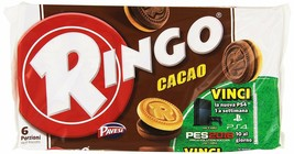 36x Pavesi Biscuits Ringo 55g CAKE with cocoa 330g x6 Pack Snack Cookies Latch - $25.17