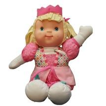 Zippity Princess Doll Plush 13in Stuffed Toy Goldberger - $23.22