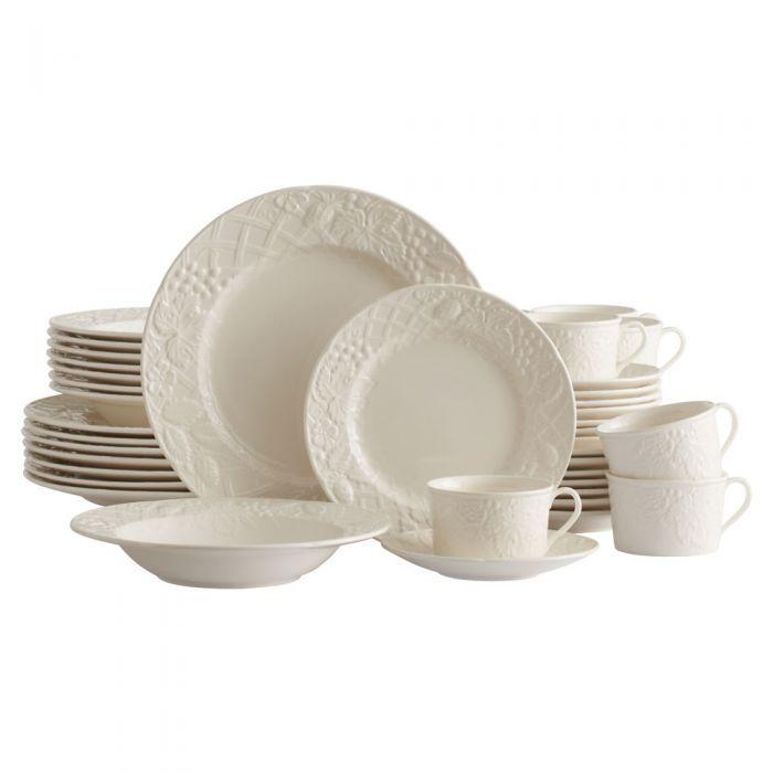 Mikasa english 40 piece dinnerware set