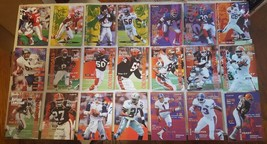 1995 Fleer Football Lot Of 67 Base Cards And 8 Subset Cards - $10.00