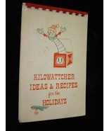 Reddy Kilowatt Kilowatcher Ideas & Recipes For The Holidays Booklet Prem... - $28.99