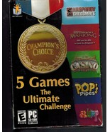 Champion's Choice - 5 Games The Ultimate Challenge - Windows 95/98/XP - $9.75