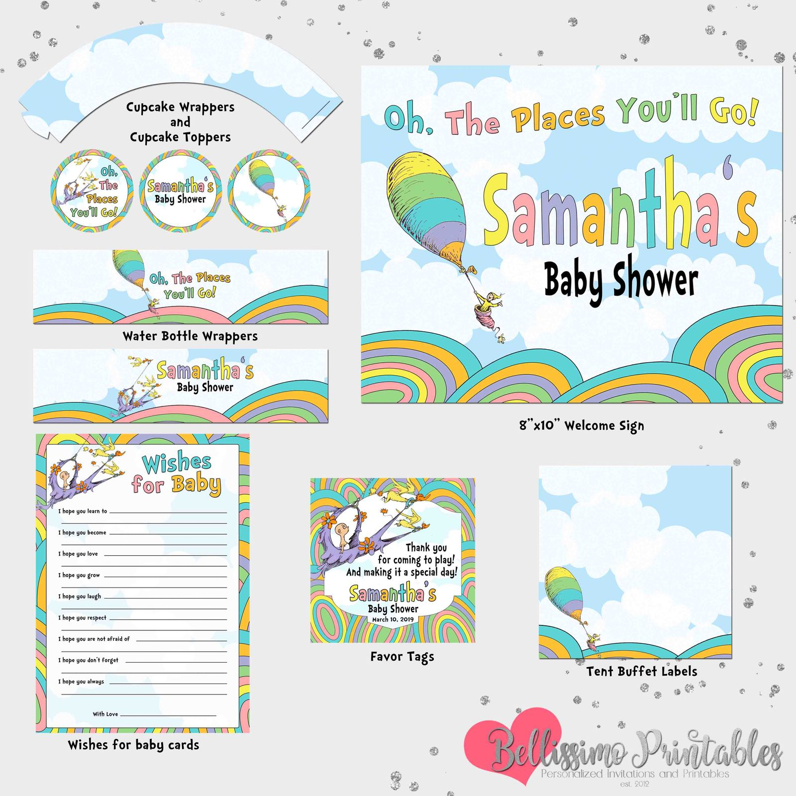 Oh The Places You Ll Go Baby Shower Party And 35 Similar Items
