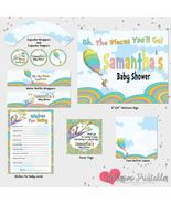 Oh the places you'll go Baby Shower Party Decorations Printable Party - $15.00