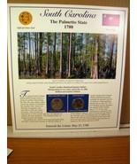 South Carolina Statehood Quarters Collection Postal Commemorative Society - $8.09