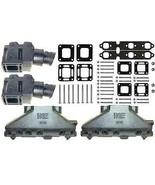 Manifold Kit Exhaust for Mercruiser GM 4.3L 262 V6 4 Inch 1987-2002 - $699.95