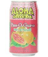 Aloha Maid Juice Pass-O-Guava, 11.5-Ounce (Pack of 24) - $58.95+