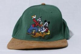 Disney Hat Goofy Mickey Donald Pluto Snapback Adjustable Cap - $39.55