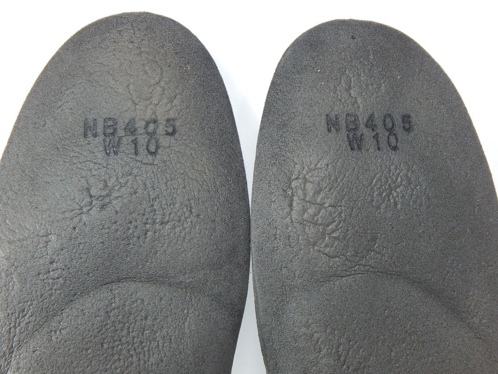 New Balance 405 Women's Size 10 NB405 Metatarsal Padded Orthotic Insoles Gray