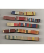 Assortment Of 10  WWII Campaign Ribbons - $4.99