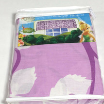 Disney Fairies window valance purple botanical print 84x15 - $20.63