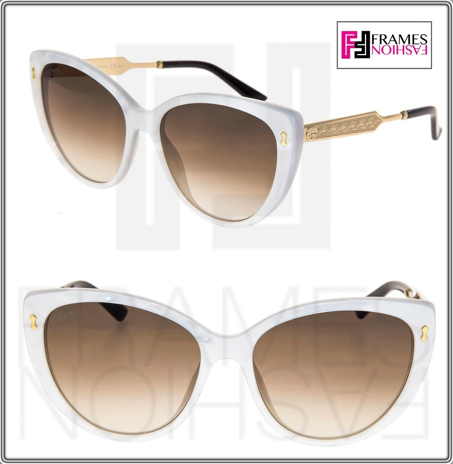 113cf55787 Gucci GG3804S Damascato Mother Of Pearl Gold and 50 similar items