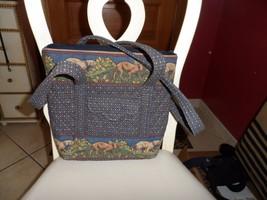 Vera Bradley petite Villager tote in Westchester Hounds pattern - $102.50