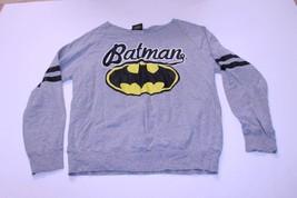 Women's Batman L (11/13) L/S T-Shirt Tee (Grey) DC Comics - $15.88