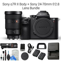 Sony a7R II Full-Frame Mirrorless Interchangeable Lens Camera, Body & So... - $4,058.99