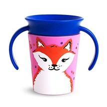 Munchkin Miracle 360 WildLove Trainer Sippy Cup, 6 Ounce, Red Fox - $9.26