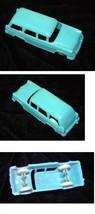 Blue Plastic Station Wagon  1950s Vintage Toy F&F Cereal Premium - $28.99