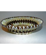 Intricately Woven & Beautiful Cowry Shell Bowl/Basket Handmade in Fiji - $30.00