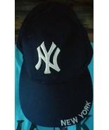 New York Yankees MLB Baseball Cap Snap Back Hat Navy Blue - $12.19