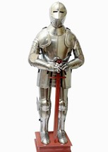 Medieval Larp Knight Wearable Full Suit Of Armor Reenactment Costume - $799.00