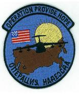 OPERATION PROVIDE HOPE, USAF, CIRCA 1992, PATCH, COLOR, ORIGINAL - $8.42