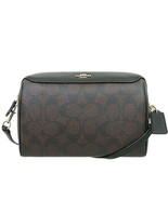 Coach Womens F77879 Signature Bennett Crossbody Satchel, Brown/Black, 81... - $102.96