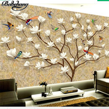 beibehang Customized 3d European hand-painted family life tree Living room wallp - $35.95