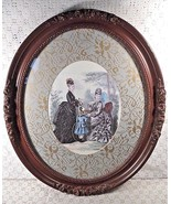 Victorian Ladies and Young Girl Signed Picture - $49.45