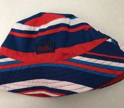 UV SKINZ Boys Red White Blue Reversible Bucket Hat Size 2T Sunwear Prote... - $5.70