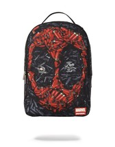 Marvel X Sprayground Collaboration Deadpool Ammo Collage Backpack 910B14... - $75.00
