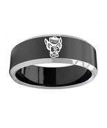 North Carolina State Wolfpack NCAA Sport Team Logo Tungsten Carbide Ring D3 - $32.99