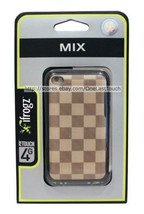iFROGZ Case for IPOD TOUCH 4G Brown/Tan Checkered MIX Hard Polycarbonate... - $2.97