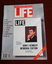 Life Magazine : Anniversary Special JFK Memorial Issue Reprint Winter 1988  - $7.53