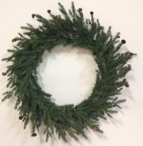"Barcana 36"" Juniper Fir Wreath - Undecorated Ar... - $24.00"