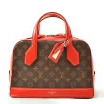 LOUIS VUITTON Coquelicot Monogram Dora PM Hand Bag Red M40274 LV Auth 7508 - $1,700.00