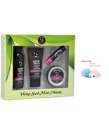 Earthly Body Hemp Seed Mini Mania Travel Set - Skinny Dip - $12.34